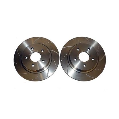 Снимка на Ferodo перфорирани и нарязани дискове